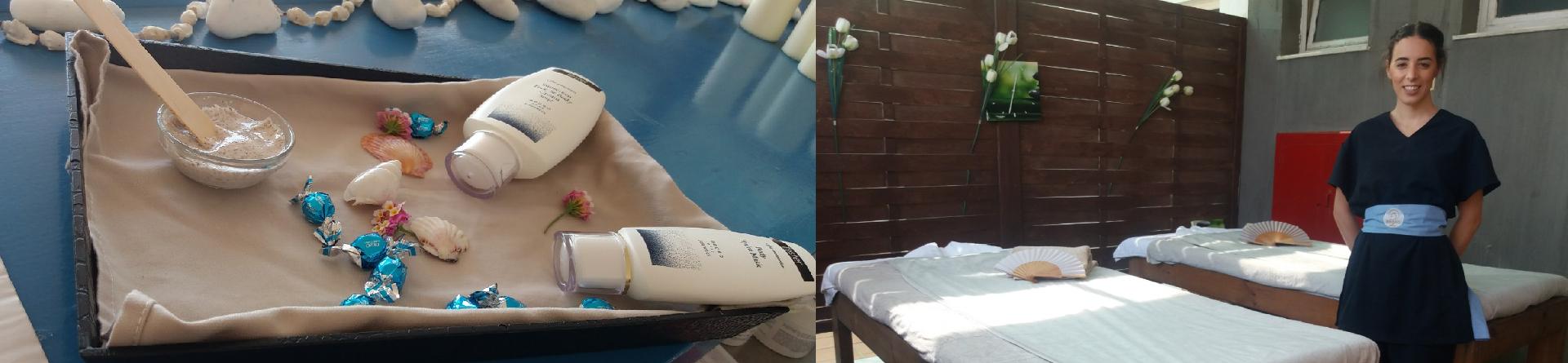 Πρακτική άσκηση απόφοιτης Πτυχίου Αισθητικής σε SPA ξενοδοχείου στην Κρήτη