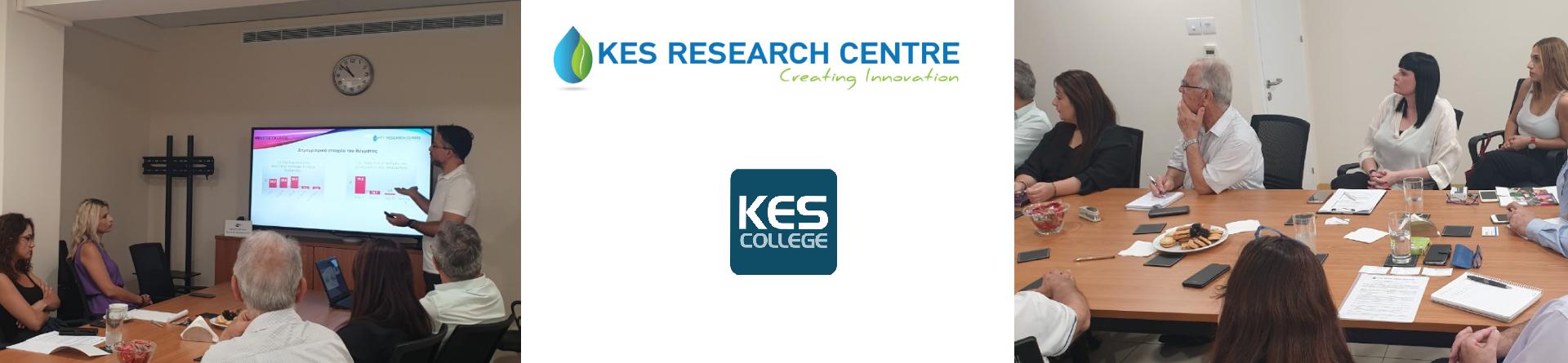 Παρουσίαση αποτελεσμάτων Ερευνητικού Έργου του KES College