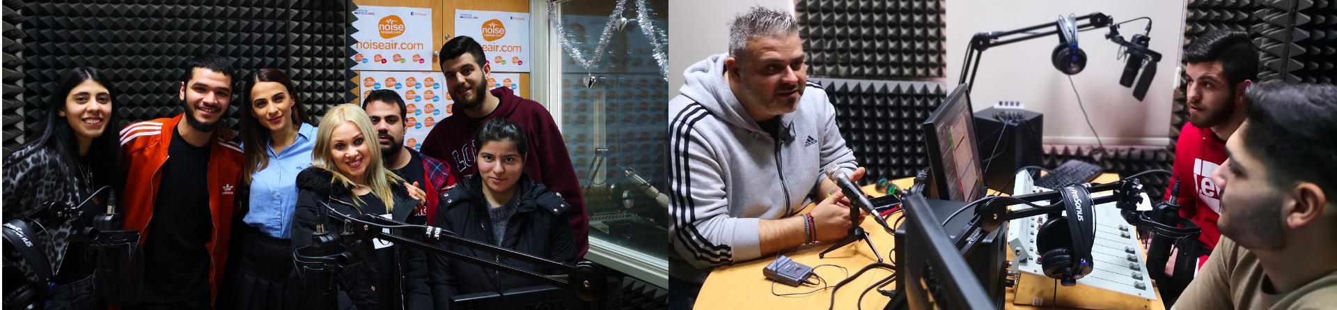Συνεντεύξεις των φοιτητών Δημοσιογραφίας στο διαδικτυακό ραδιόφωνο NOISE RADIO